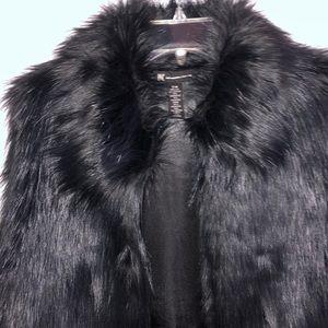 NWOT!!  Faux Fur Vest